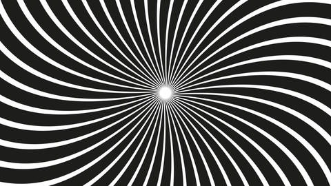 a spinning hypnotic abstract spiral loop Animation