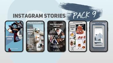Instagram Stories Pack 9 After Effects Template