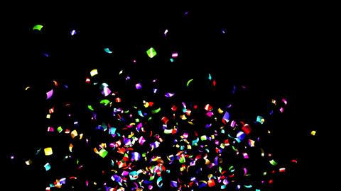 Confetti ColorfulMetalic HD 15s Animation
