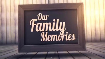 Family Photos After Effects Template