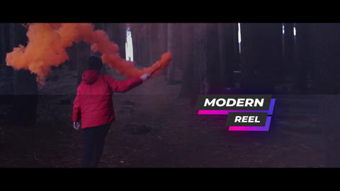 Modern Reel After Effects Template