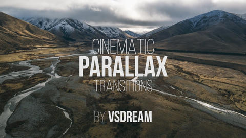 Cinematic Parallax Transitions Presets Premiere Pro Template