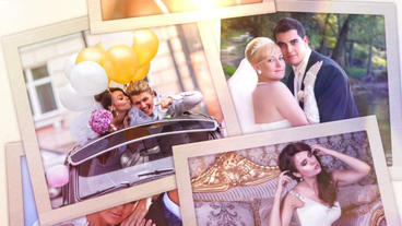 Polaroid Wedding After Effects Template