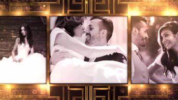 Golden Royal Wedding After Effects Template