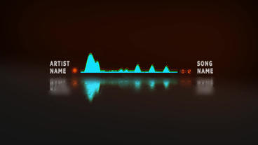 Audio Spectrum Music Visualizer After Effects Template