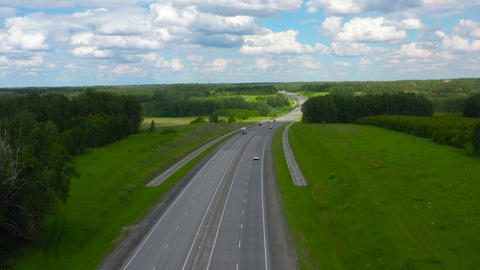 Suburban highway in Siberia 007 Live Action