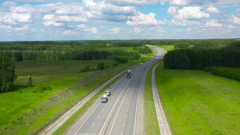 Suburban highway in Siberia 008 Live Action
