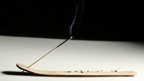 Aroma stick with smoke Footage