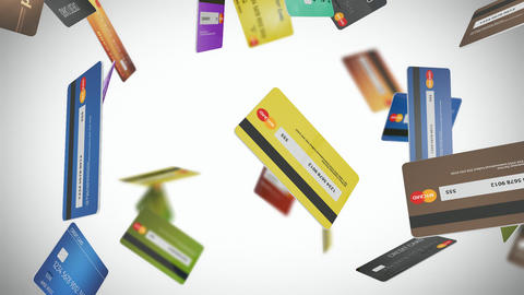 Credit Card Loop 01 Animation