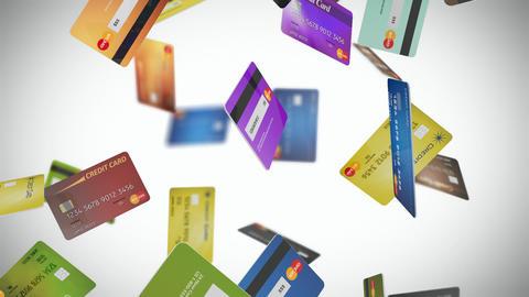 Credit Card Loop 01 Stock Video Footage
