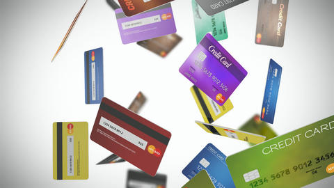 Credit Card Loop 01, Stock Animation