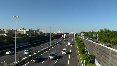 Bayshore route of shuto expressway 2 Live Action