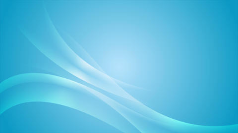 Abstract blue wavy video animation design Animation