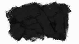 Fast Changing Abstract Paint Brush Frames Pack with Alpha Channel (Transparency) Animation