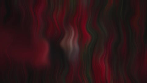 Red Colored Waves Animation