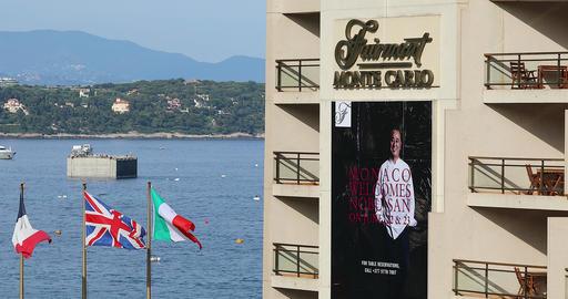 Hotel Fairmont Monte-Carlo In Monaco Footage