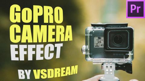 GoPro Camera Effect Premiere Proテンプレート