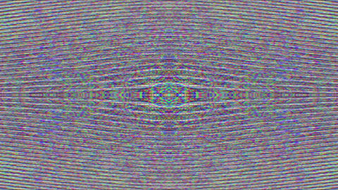 Unique digital error psychedelic, corrupted computer, psychedelic particles Footage