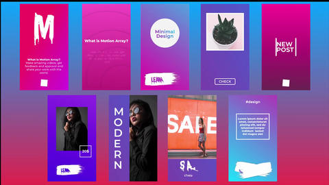 Instagram Stories Pack V10.2 After Effects Template