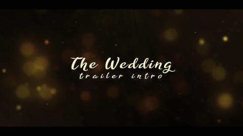 Wedding Intro | Wedding Trailer After Effects Template