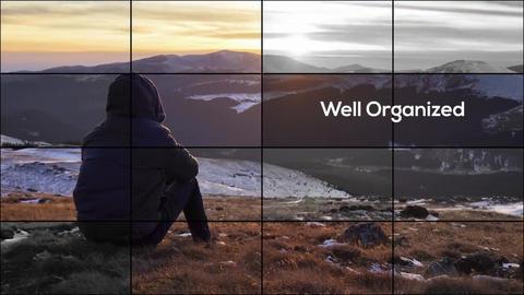 Elegant Grid - Photo Slideshow // Premiere Pro Premiere Pro Template