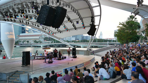 Foreword February free performances near Esplanade in Singapore Live Action