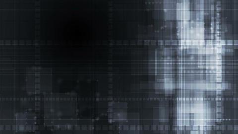 Dark grunge tech abstract geometric video animation Animation