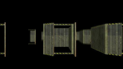 Containers motion animation Animation