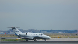 Private jet on the executive Footage