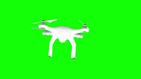 Digitally generated image of drone Animation