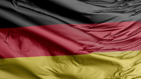 Germany Flag Real Animation Loop Animation
