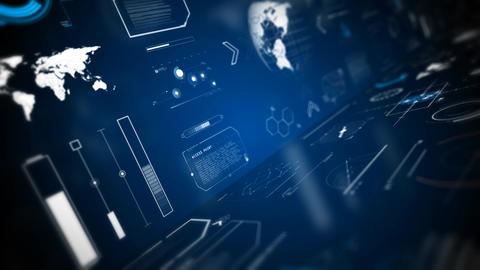 Technologies hud screen displays animations Animation
