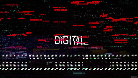 Glitch After Effects Template