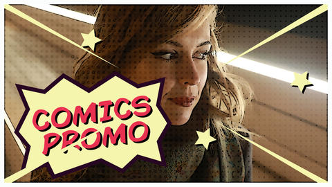 Comics Opener After Effects Template