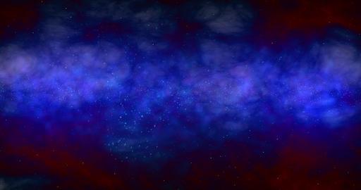 Space Background UI Animation