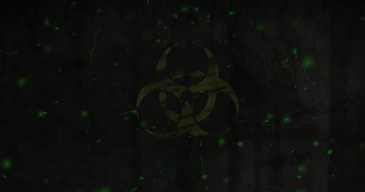 Biohazard Warning, Stock Animation