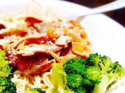 Delicious spaghetti close-up 2 Fotografía
