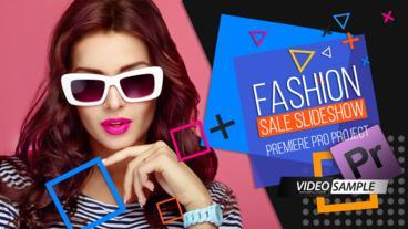 Fashion Sale Slideshow Premiere Pro Template