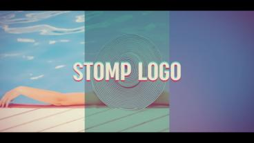 Stomp Logo After Effects Template