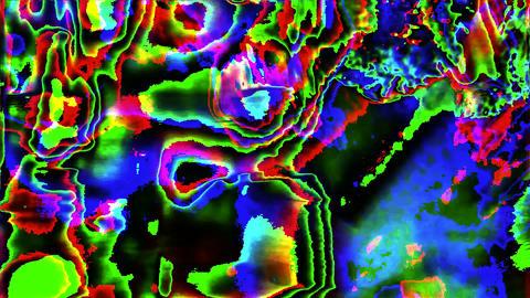 Casual elegant futuristic cyberpunk iridescent background Footage