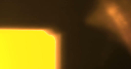 abstract golden light pulses and glows lights leaks effect motion background Footage