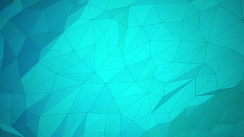 Low Poly Style Background Video of Slow Moving Polygons Animation