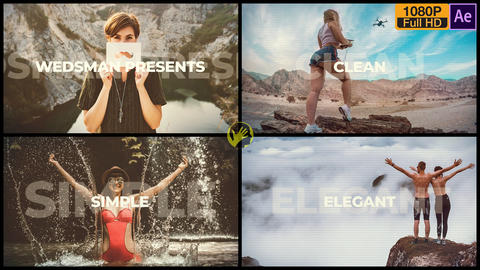 Upbeat Event Opener After Effects Template