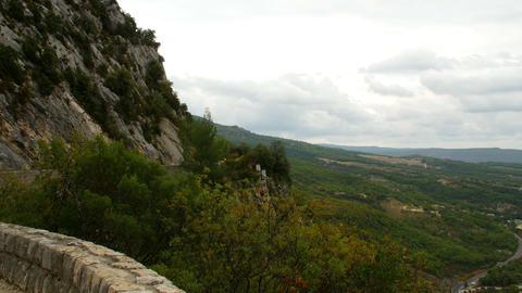 View of the Lac de Sainte-Croix, Provence, France, Europe Live Action