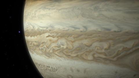 Planet surface animation. Nasa Public Domain Imagery Animation