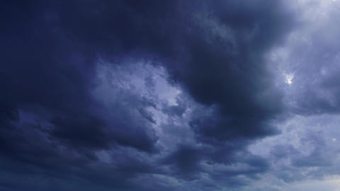 dark storm clouds are moving fast, timelapse, 4k Footage