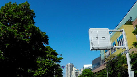 Leisure and tourist destination of Odaiba of Japan.・東京、お台場。 Footage