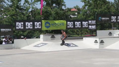 Claudio Costa during the DC Skate Challenge Footage
