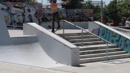 Daniel Ferreira during the DC Skate Challenge Footage