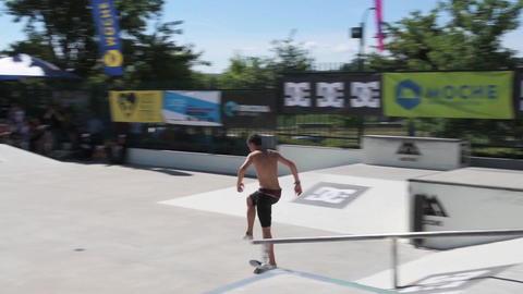 Gabriel Ribeiro during the DC Skate Challenge Footage